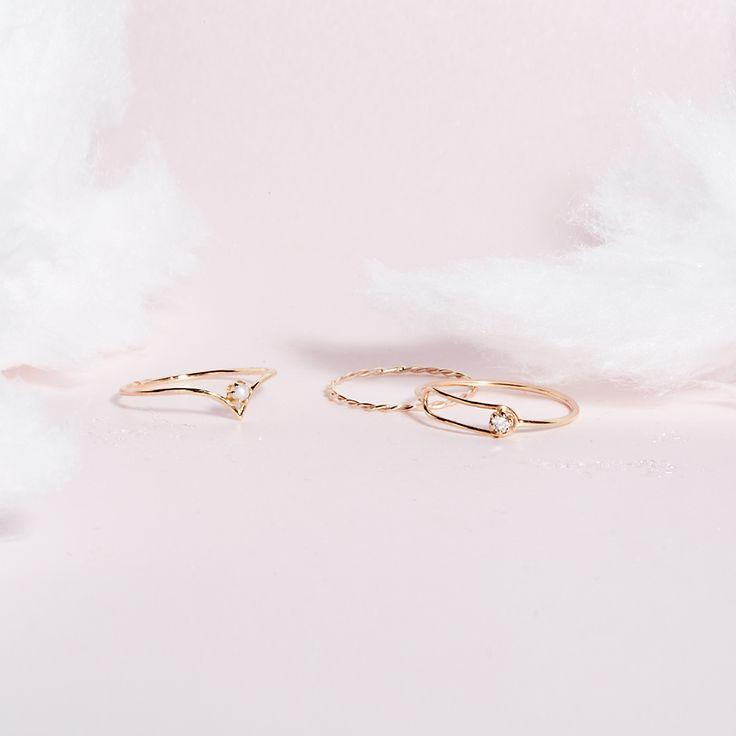 Rings by SARAH & SEBASTIAN jewllery