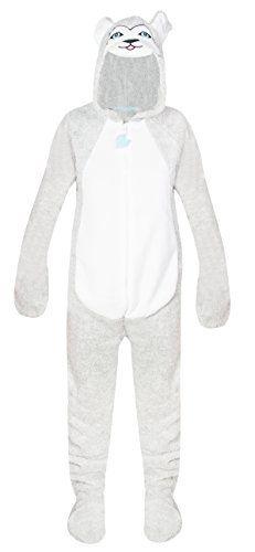 Ladies Fleece All In One Pyjamas Jump Sleep Suit Onesie Nightwear New HUSKY (6-8) Primark http://www.amazon.co.uk/dp/B00Q0UEBEU/ref=cm_sw_r_pi_dp_ftF6ub0HJGCMJ