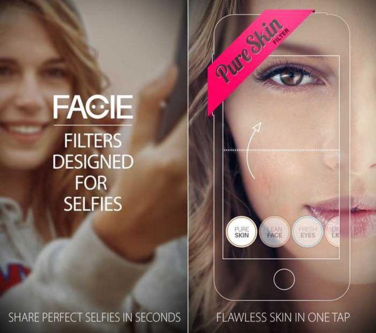 FACIE - o aplicatie grozava pentru selfie-uri disponibila GRATUIT   iDevice.ro