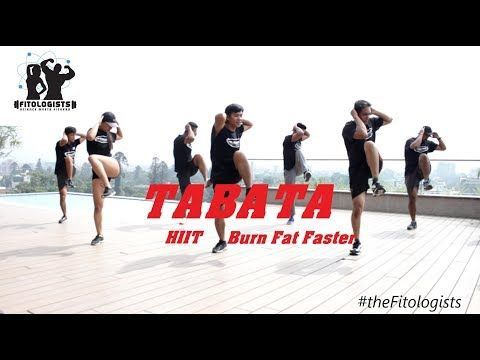4-Minute Fat Burning Workout | Tabata for Beginners - YouTube