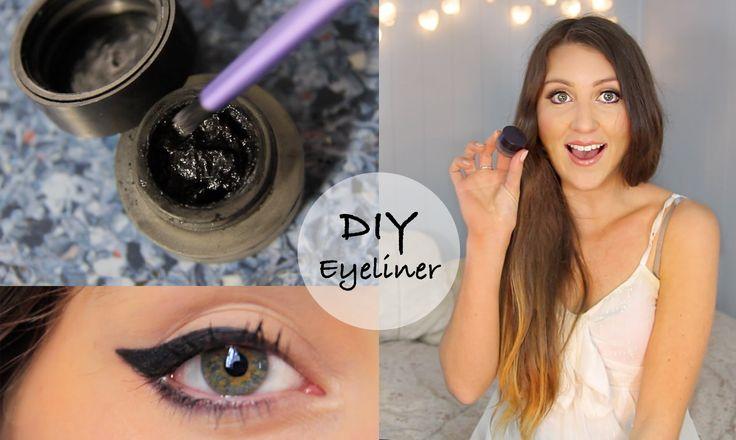 Who doesn't love eyeliner! Here's a a DIY gel eyeliner video. Enjoy!