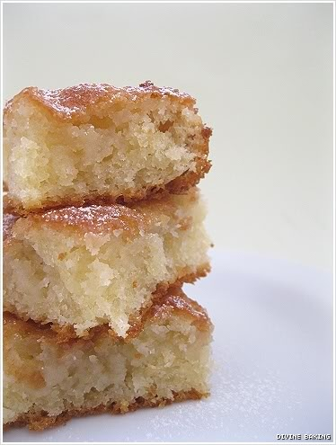 St. Louis Gooey Butter Cake recipe. Doesn't require a cake mix and