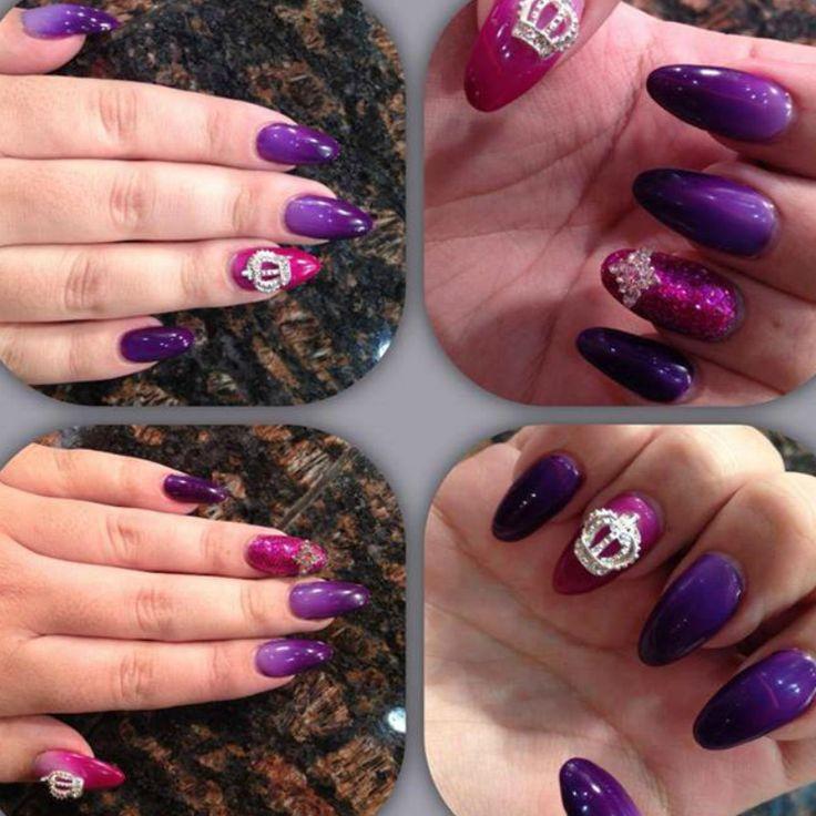 2014 Clolour Trending using SHADE colour changing gel polish  @Katrina Alvarez Lassey #teambfx #beautyfx