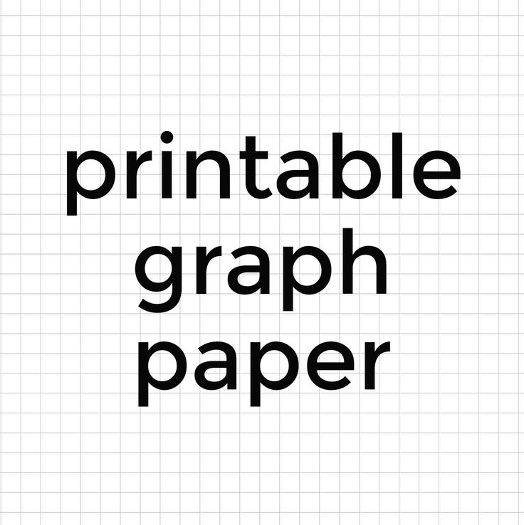 The 25+ best Printable graph paper ideas on Pinterest Graph - half inch graph paper template