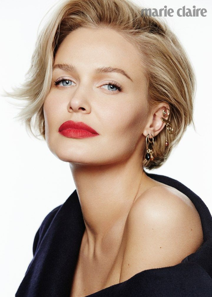 Lara Worthington beauty / Marie Claire Magazine cover