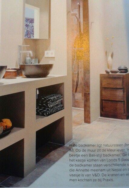 48 best Badkamer ideeën images on Pinterest   Bathroom, Half ...