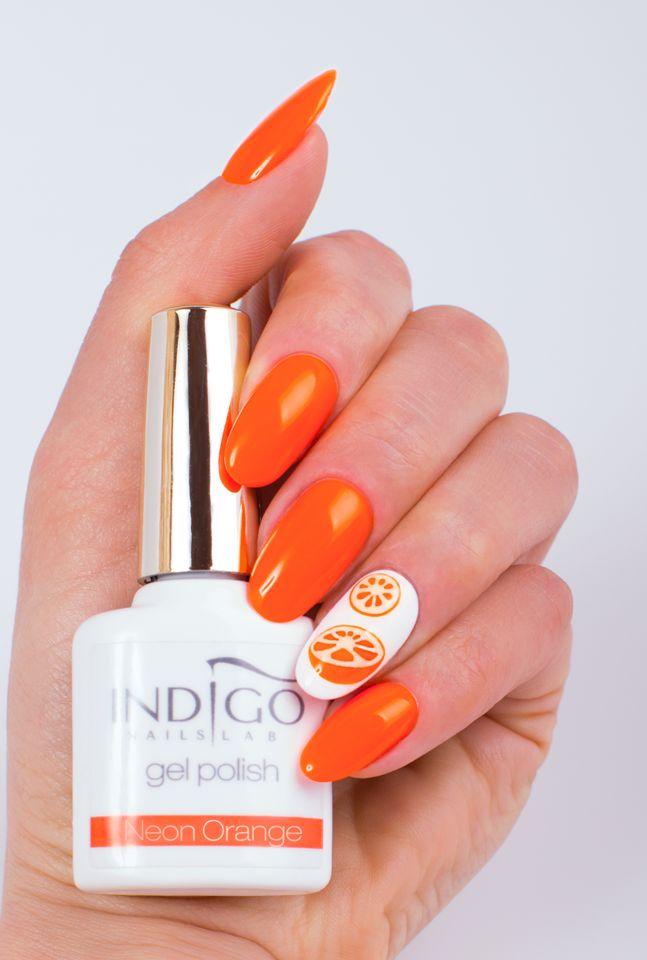 Neon Orange (video) | indigo labs nails veneto