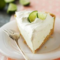 .whipped key lime pie.