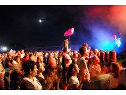Publiczność podczas koncertu zespołu Pectus w ramach XI Dni Gminy Wielka Wieś #dgww