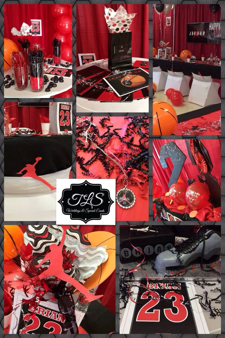 Jordan Themed Party By ~TLS~ Indianola, MS