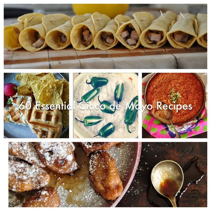 Cinco de Mayo is in one week, but if you are like me you will be celebrating with a GIGANTICOfiesta this weekend. Whether your planning on serving chili with all the fixins' or a taco bar, I've got you covered with all the recipes you'll need for a memorable party. Today I'm posting my all-time favorite Mexican nibbles and bites and come back on Thursday for 25 cocktail recipes to round out your menu. Now, Who's Ready To Party!!! Starters Classic Guacamole with Chips Charred Tomatillo Salsa…