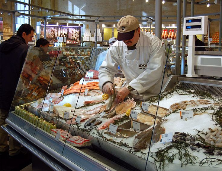 M s de 25 ideas incre bles sobre butchers market en for Fresh fish shop near me