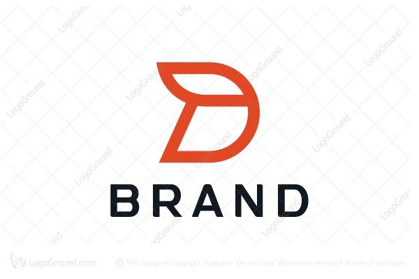 Unique Simple Letter D Logo Clothing Brand Logos Simple Logo Design Web Hosting Design