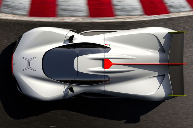 Pininfarina H2 Speed Concept top view