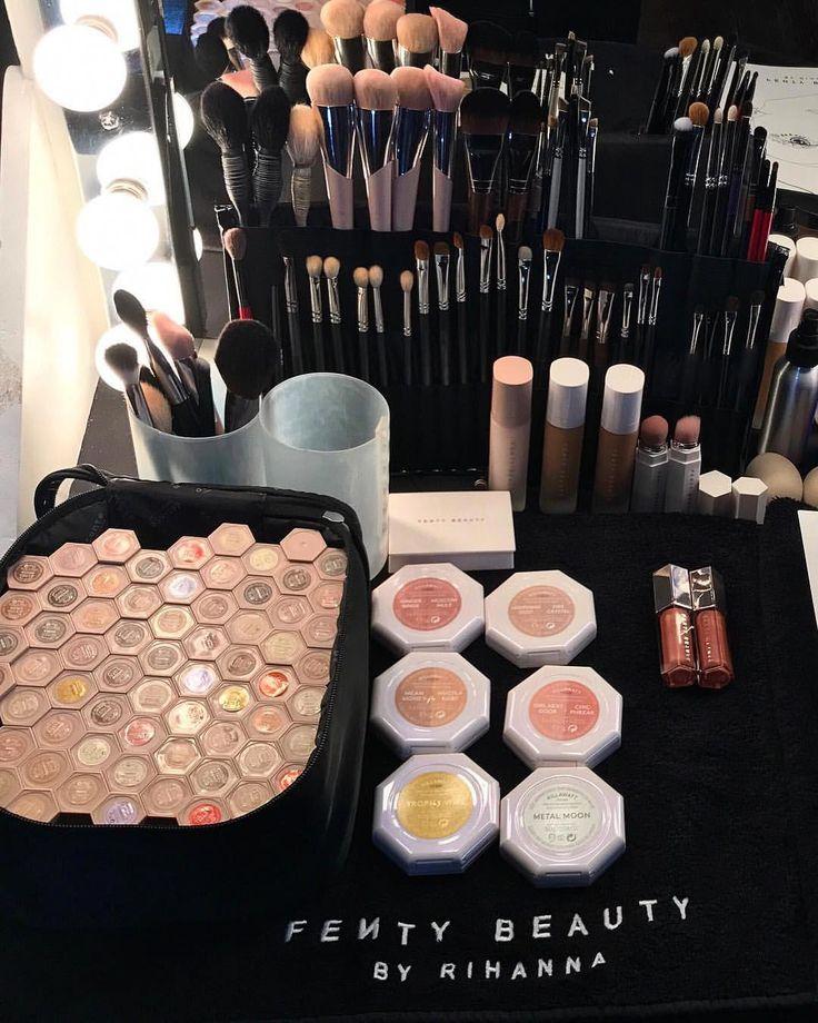 Pinterest MissLAcream FENTY MakeUp Beauty By Rihanna