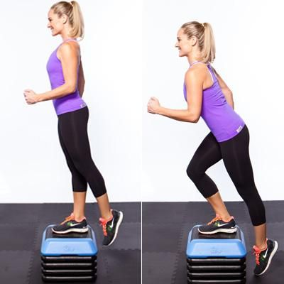MUST start doing some strength stuff again.: Fit Workout, Workout Moving, Beauty Clothing, Mornings Work, Shapes Magazines, Favorit Workout, Lower Body Workout, Favorit Moving, Step Up