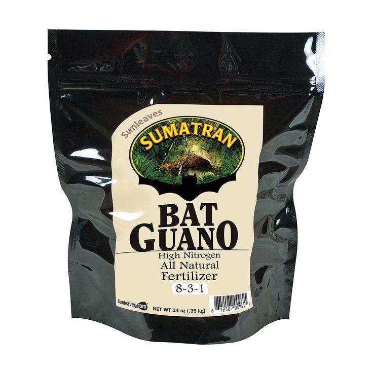 Sunleaves Sumatran Bat Guano, 14 oz