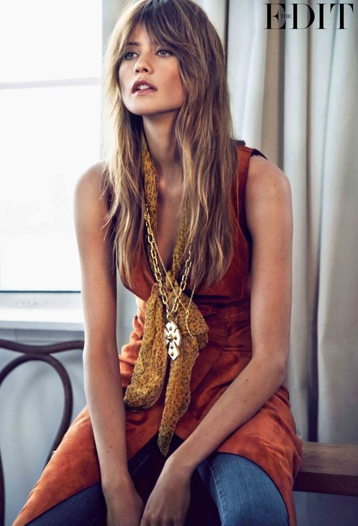 The Latest Cover Shoot for the Edit Stars Model Behati Prinsloo #popculture #ideas trendhunter.com