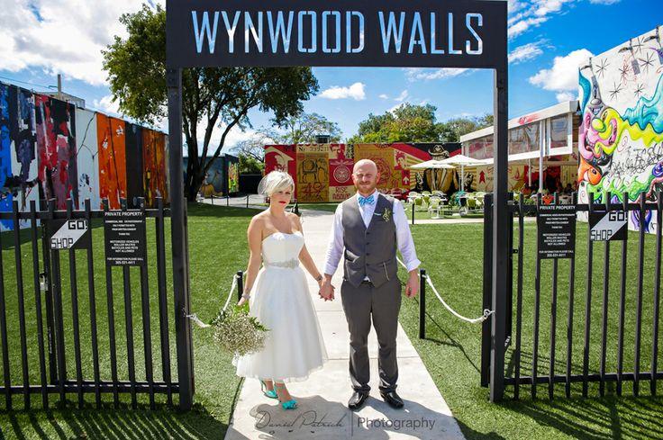 Jeffrey And Alexis March 2014 Wedding Wynwood Walls Miami