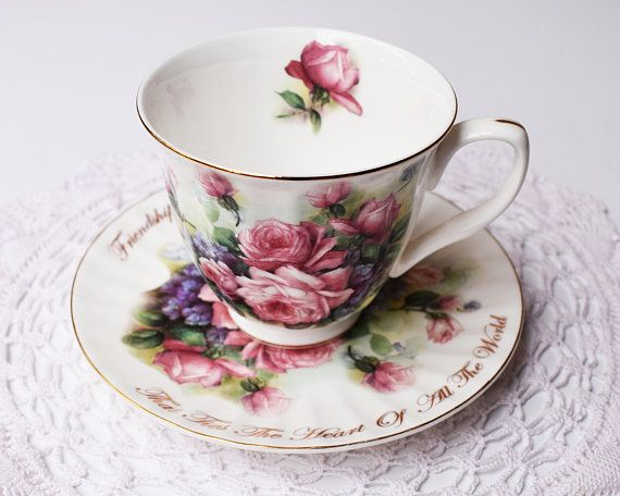 Dynasty/Royal Patrician/Vintage tea cup/Tea cup and saucer/Vintage China