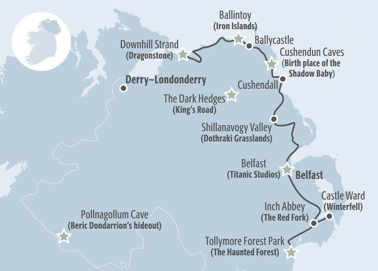 Image of Itinerary Map