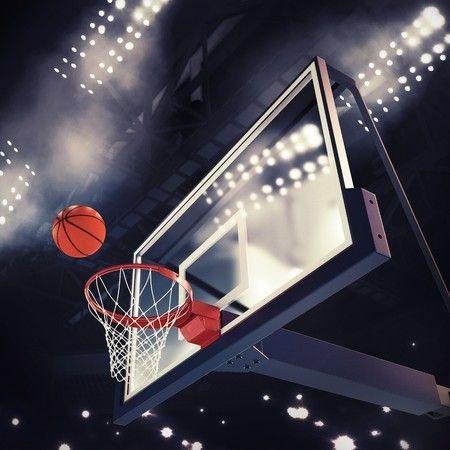 Basketball Score Wallpaper Mural