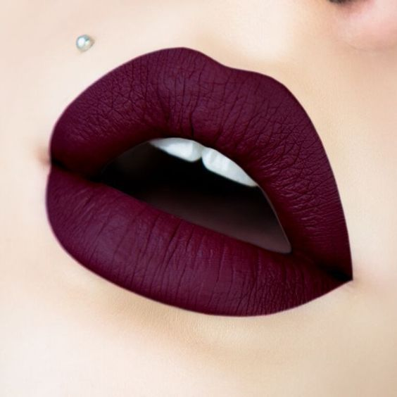 Bring out your inner rockstar with these vampy plums, brick reds and blacks