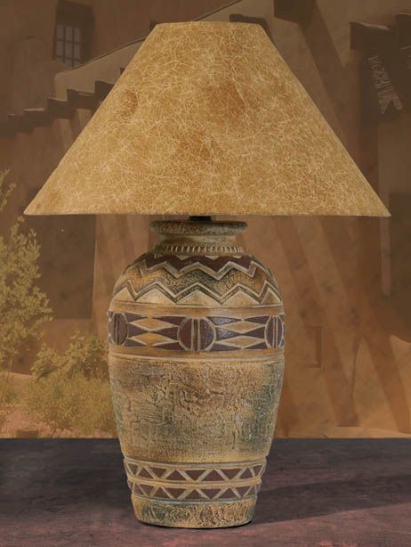 Southwestern Lamps, Southwest Style Table Lamps