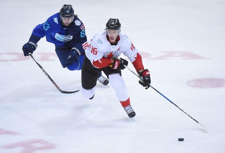 Světový pohár vyhráli Kanaďané. Rozhodující gól dali Výběru Evropy 44 sekund před koncem - Český rozhlas