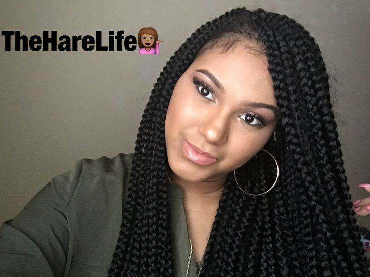 Crochet Braids Medium Box Braids : ... ES Pinterest Crochet Box, Box Braids and Braids
