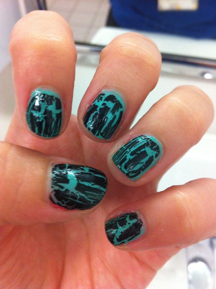 47 best Crackle Nail Polish images on Pinterest | Crackle nails ...