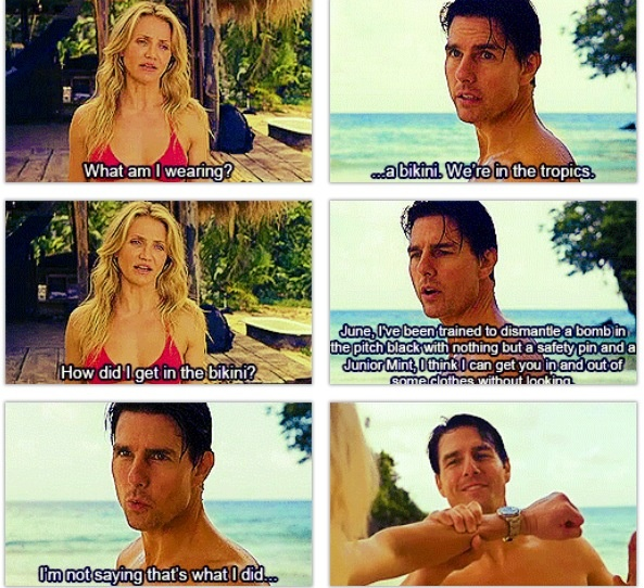 Knight & Day - This movie got bad press, but it actually wasn't bad at all.