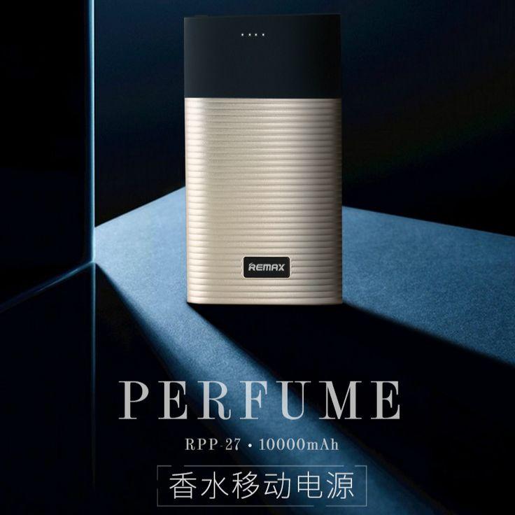Remax RPP-27 10000mAh General Charge Treasure External Backup Power Power for Smartphones Perfume Large Capacity PowerBank #Affiliate