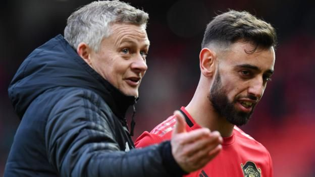Bruno Fernandes Manchester United Boss Ole Gunnar Solskjaer Says New Signing Is A Mix Between Scholes And Veron In 2020 Manchester United Manchester United Live Ole Gunnar Solskjaer