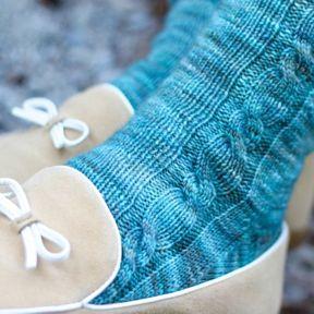 Jacqueline Socks – Three Irish Girls Yarn Inc