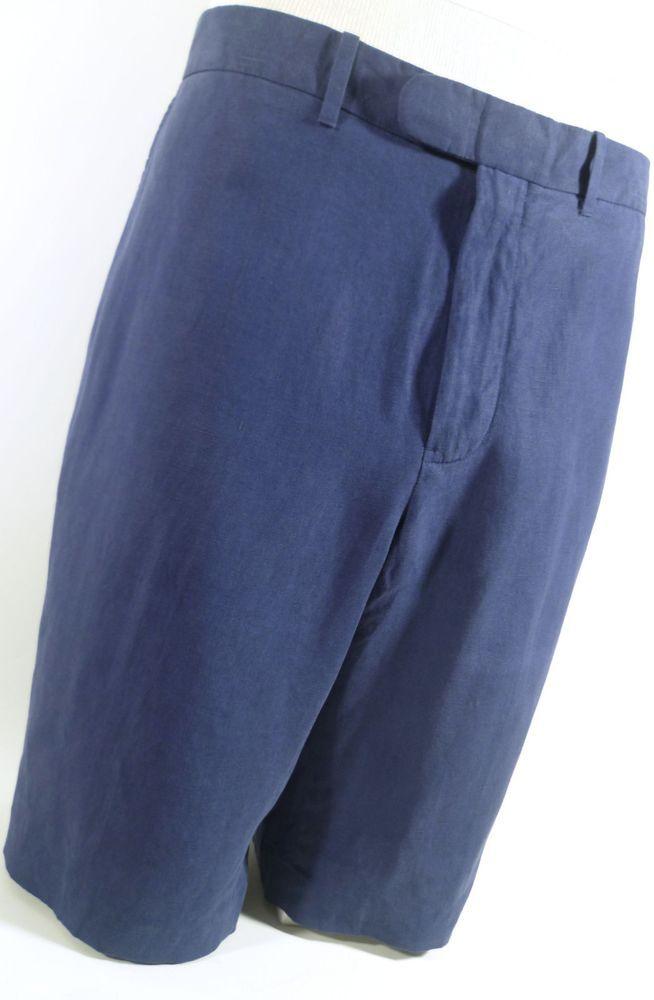 Polo Ralph Lauren Regular Solid Flat Front 36 Shorts for Men