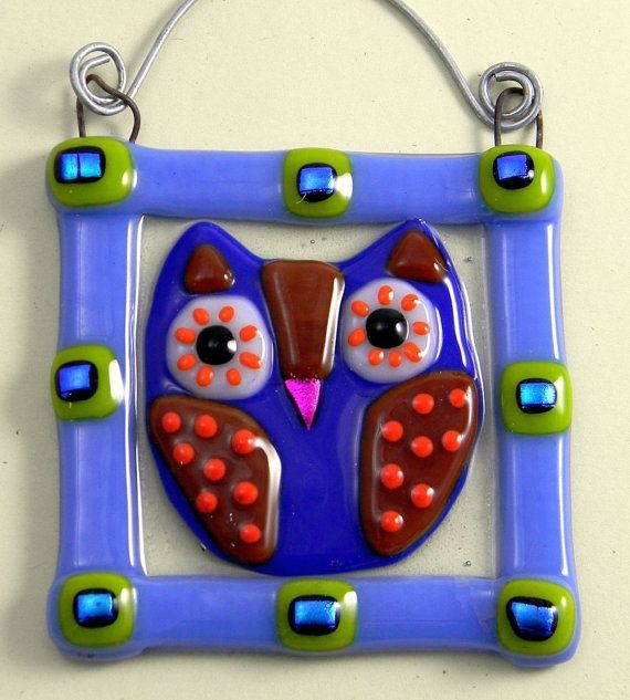 Fused Glass Projects   cute   Glass Fusing Project Ideas