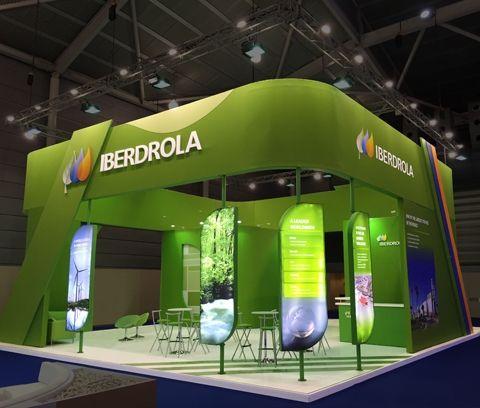 Stand Iberdrola - Gastech 2015