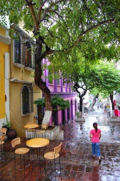 Hermosa callecita en el Centro de #Villahermosa, #Tabasco, #Mexico Freddy Moreno
