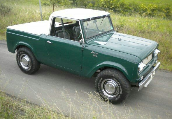 Old International scout