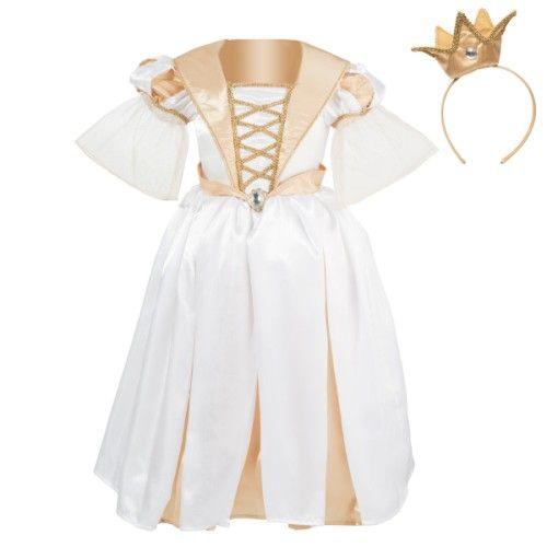 Pour aller danser au bal du Roi, la petite princesse revêt sa robe dorée. Elle ajuste sa couronne et se présente à sa majesté. Les danses se succèdent. Son imagination prend le relais.
