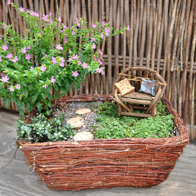 Sticks and stones this brushwood planter is the perfect for Sticks and stones landscaping