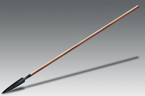 ASSEGAI SPEAR (LONG) based on an African design, still used for hunting and self defense, Can be kept in the hand or thrown.