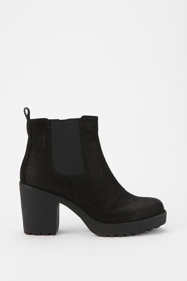 Vagabond Grace Leather Ankle Boot - Urban Outfitters