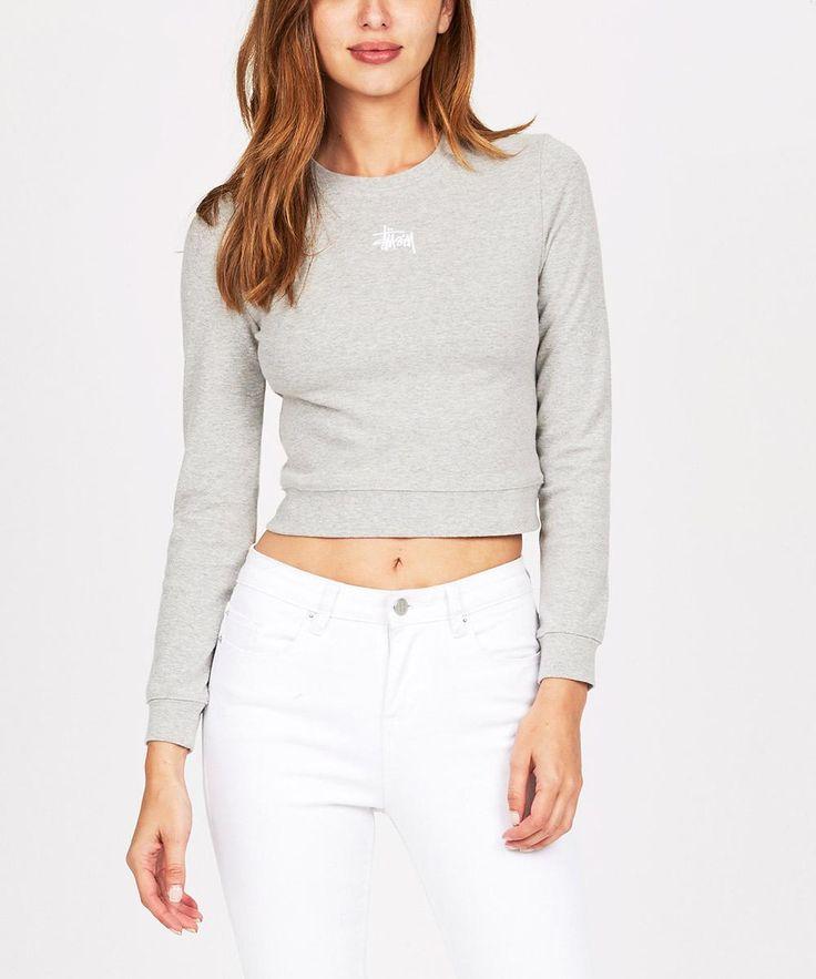 WHARFIE LONG SLEEVE TOP GREY   Long Sleeve T-Shirts   T-Shirts   Clothing   Shop Womens   General Pants Online