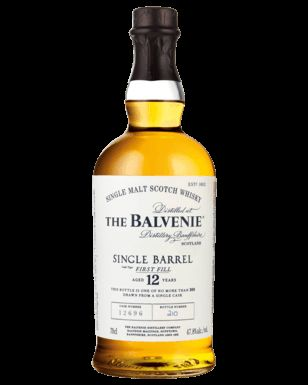 The Balvenie 12 Year Old Single Barrel Scotch Whisky 700mL