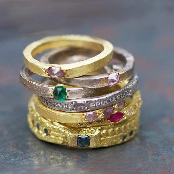 Alliance gold turquoise and purple diamonds