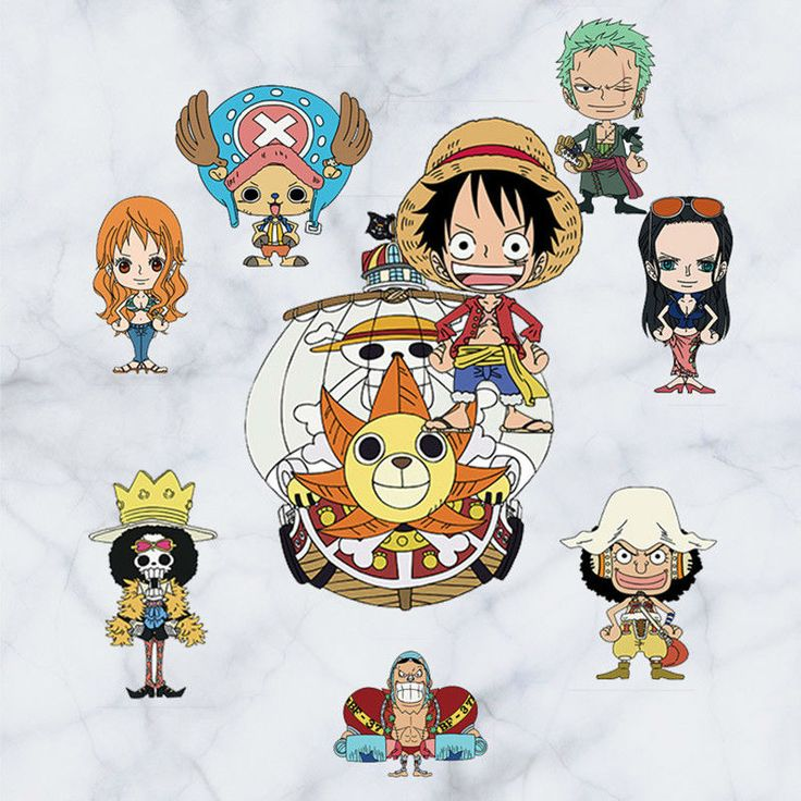 One Piece Anime Design Wall Decals 3D Vinyl Stickers Kids Room Decor //Price: $8.00 & FREE Shipping //     #onepiece #onepieceanime #dluffystore