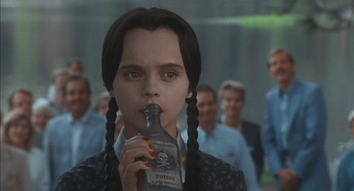 anyone who thinks even for a second that christina ricci wasn't the best wednesday addams to ever exist is in need of a fist in their face #truth