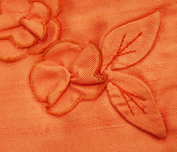 American Silk Evening dress skirt back detail Designer: Ann Lowe Department Store: Saks Fifth Avenue 1962–64